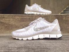 New in Box Women's Nike Free Run 5.0 V4 Zebra by ShopGlitterKicks