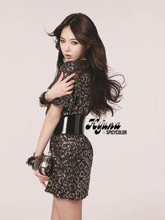 Hyuna of 4minute