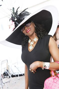 beautiful hat/model -  kentucky derby