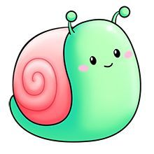 Snail clipart snail mail - pin to your gallery. Explore what was found for the snail clipart snail mail Cute Cartoon Drawings, Cute Kawaii Drawings, Cute Cartoon Animals, Cute Animal Drawings, Easy Drawings, Snail Cartoon, 365 Kawaii, Kawaii Cute, Cute Clipart