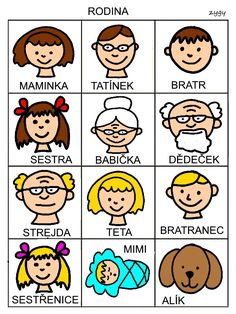 Rodina Grandparents Day, Speech Therapy, Czech Republic, Writing Tips, Montessori, Preschool, Speech Language Therapy, Language, Autism