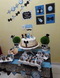 1st Birthday Presents For Boys, Boss Birthday, Baby Boy 1st Birthday Party, Birthday Themes For Boys, Baby Birthday Cakes, Baby Party, Baby Girl Shower Themes, Boss Baby, Bernardo