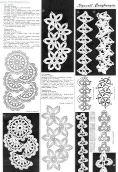 Tape lace | Entries in category Tape lace | Blog tusendria: LiveInternet - Russian Service Online Diaries