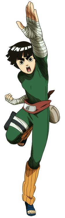 Rock Lee is a major supporting character of the series. He is a chūnin-level shinobi of Konohagakure and a member of Team Guy.