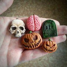 Instagram media by krinna_handmade - Preparing for Halloween  #halloween…