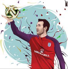 Soccer Drawing, Football Art, Illustration, Illustrations