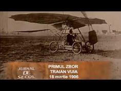 Jurnal de secol: Primul zbor al lui Traian Vuia Science, Youtube, Movie Posters, Movies, Films, Film Poster, Cinema, Movie, Film