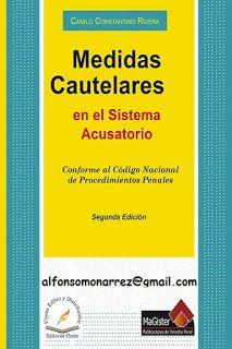 LIBROS EN DERECHO: MEDIDAS CAUTELARES EN EL SISTEMA ACUSATORIO