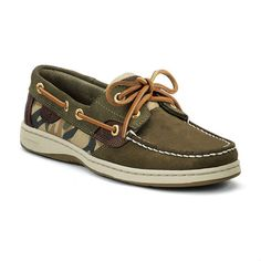 womens camo shoes | SPERRY WOMEN'S BLUEFISH OLIVE/CAMO at Cool Comfort Shoes
