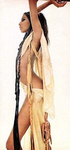 Donayle Luna for PlayMen, 1970