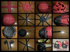 beruška Newspaper Crafts, Old Newspaper, Willow Weaving, Basket Weaving, Corn Dolly, Recycled Magazines, Paper Weaving, Rolled Paper, Paper Basket