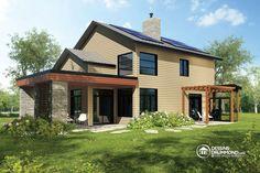 Détail du plan de Maison unifamiliale W3723-DJG