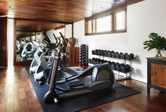 Home+Gym+Design+Ideas+|+Architectural+Digest Home Gym Ideas. The easy way to buy or sell your home and maximize your ROI -  http://www.LystHouse.com