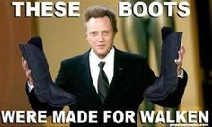 Not to be confused with the song Walken in a Winter Wonderland.