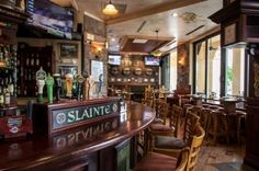 Interiors of Irish Pubs | slainte irish pub kitchen slainte irish pub kitchen is holding a sandy ...