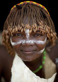 Tharaka woman wearing a wig - Kenya   Eric Lafforgue  #world_cultures
