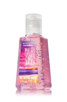 Malibu Sunset PocketBac Sanitizing Hand Gel - Anti-Bacterial - Bath & Body Works