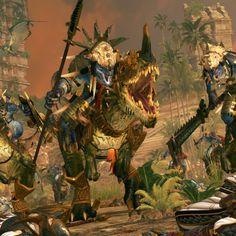 Total War: Warhammer 2  Lizardmen Quest Battle Gameplay