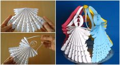 Flower Embroidery Hand Embroidery Flower - Amazing Trick - DIY All Things - DIY Paper Angels Hand Embroidery Flowers, Hand Embroidery Tutorial, Ribbon Embroidery, Embroidery Patterns, Paper Angels Diy, Diy Paper, Paper Crafts, Diy Christmas Tree, Christmas Angels