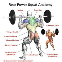 Power squats..