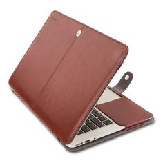 """New Laptop Premium PU Leather Sleeve Case Notebook Shell Cover for MacBook 12"""" Air 11"""" 13"""" Pro 13 Retina 13 15 inch - TMACHE"""