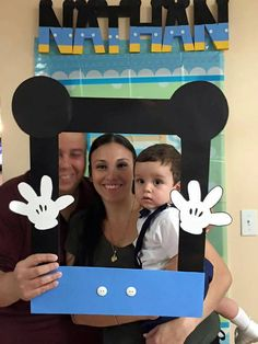 Baby Mickey photo booth Mickey mouse babyshower by AlondrasDesigns