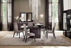Modern rug for luxurious Dining Room ♥ Discover the season's newest designs and inspirations http://www.contemporaryrugs.eu/ #designinspiration #designhouse #  DiningRoomideasSets # DiningRoomdecoration #curateddesign #furnituredesign #celebratedesign