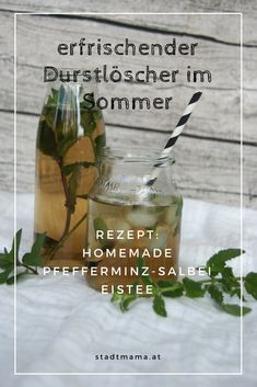 Homemade iced tea in 3 refreshing sugar-free variations - Food and drink - Yummy Eis Peppermint Oil Benefits, Peppermint Oil Uses, Peppermint Tea, Peppermint Patties, Homemade Iced Tea, Refreshing Summer Drinks, Coctails Recipes, Vodka Cocktails, Smoothie Drinks