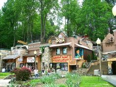 You name it, they've got it for family fun! Ever play mini putt-putt golf on the side of a mountain?