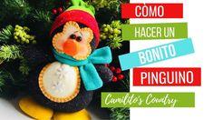 ➤Como Hacer Un PINGUINO NAVIDEÑO ★ Con ( MOLDES GRATIS!!! ) -Manualidade... Navidad Diy, Xmas, Bogota Colombia, How To Make