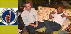 Abinader visita Adan Peguero y otros lideres del PRM en municipio Santo Domingo