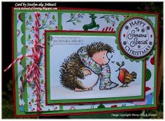Instead of Ironing Blogspot: Penny Black Christmas Friends Christmas card