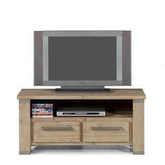 € 339,00 Tv-meubel Intro is van acacia hout en heeft een prachtige natuurlijke look.  Afmetingen: BxDxH 113x45x52