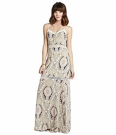 BCBGeneration ContrastSeamed PaisleyPrint Maxi Dress #Dillards Prom Dresses, Formal Dresses, Lord & Taylor, Bcbgeneration, Dillards, Personal Style, Contrast, My Style, Inspiration