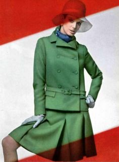 Nina Ricci. L'Officiel magazine 1967