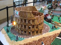 The Colosseum in gingerbread