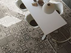 Not that I could ever afford mosaic tiles as my flooring but these new designs are so much fun. (MEMORIE by APPIANI)