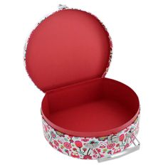 Owl Print Oval Storage Suitcases - Set Of 2 | Storage Boxes at The Works
