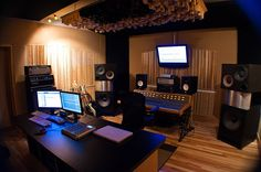 Allure Sound l Control Room -...    Music Studio