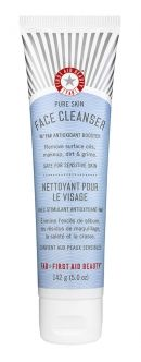 First Aid Beauty: Face Cleanser- Gentle and Removes Oil and Makeup