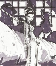 Princess Leia by Skottie Young