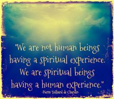 We are not human beings having a spiritual experience. We are spiritual beings having a human experience. User Quotes, Twitter Quotes, Spiritual But Not Religious, Spiritual Wellness, Life Purpose, Live Life, Inspire Me, Wise Words, Favorite Quotes