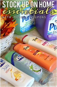 A+ Values Promotion: Stock Up On Home Essentials With Henkel Coupons | via @glamorable #shop #cbias #APlusValues #coupons #bbloggers #skincare #bodywash #drugstore