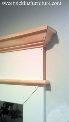 {DIY Lintel Molding} – so easy!! | Sweet Pickins Furniture