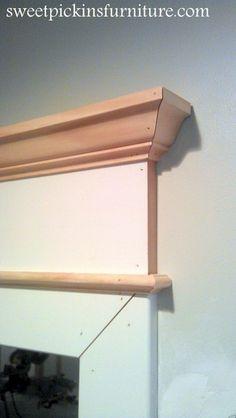 {DIY Lintel Molding} – so easy!! | Sweet Pickins Furniture