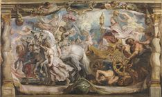 Tapisserie de Paul Rubens, The Triumph of the Church, Monasterio de las Descalzas Reales.