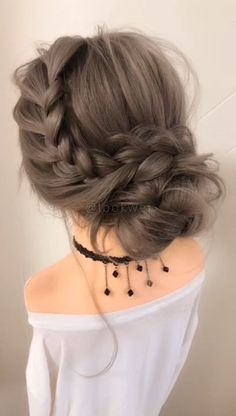 Spring hairstyle idea Spring hairstyle idea,H. Related posts:Elegante Braid Half Up Half Down Frisuren - Neue Haare Modelle - Dutch braidRegenbogen Haare - Dutch braidFashionable Winter Hair Color Ideas - Winter. Easy Hairstyles For Long Hair, Spring Hairstyles, Up Hairstyles, Hairstyle Ideas, Simple Hair Updos, Hairstyles For Homecoming, Easy Wedding Hairstyles, Gatsby Hairstyles, Braided Crown Hairstyles