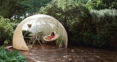 Gardenigloo's PVC geodesic domes are 100% weatherproof allowing you to spend more time outdoors whether rain, snow, or shine any day of the year.