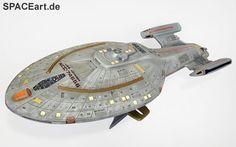 Star Trek: U.S.S. Voyager, Modell-Bausatz, http://spaceart.de/produkte/st036.php