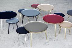 Les tables Jelva de Broste Copenhagen dans notre gamme Design Contemporain sur www.atelierpikfactory.fr. Elegantes et colorées, un design sobre et lumineux :)